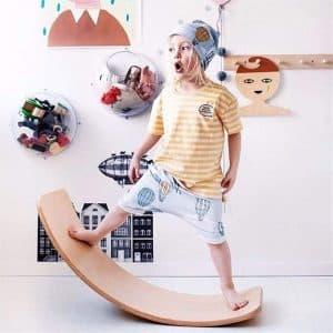 Glintoper Wooden Balance Board