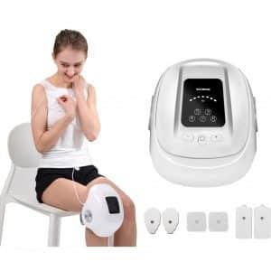 HEZHENG Cordless Compression Knee Massager
