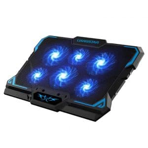 LIANGSTAR Laptop Cooling Pad with 6 Quiet Fans