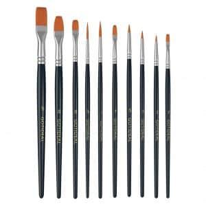 GOTIDEAL 10 Pcs Paint Brush Set