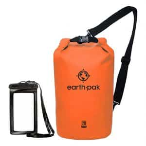 Earth Pak –Waterproof Compression Dry Bag for Beach, Kayaking
