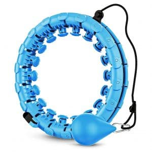 GOBEES Weighted Fitness Hoop