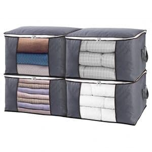 SGHUO 4Pack Clothes Storage Bag
