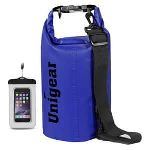 Unigear Dry Bag Lightweight, Floating and Waterproof Bags with Waterproof Phone Case