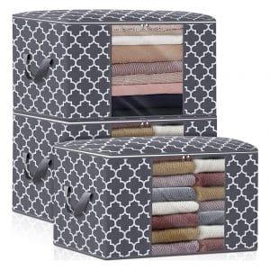 WISELIFE 3-Pack Storage Bags
