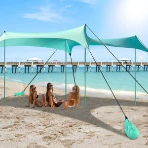 10x10FT Family Beach Canopy