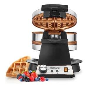CRUX Rotating Waffle Maker