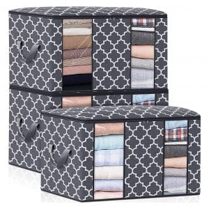 Fab totes 3 Pack Clothes Storage Bag