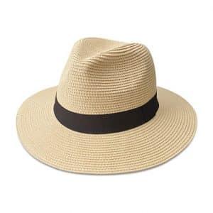 Maylisacc Women's Straw Panama Hat