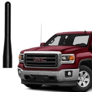 AMFRNE GM Truck Short Matte Black Radio Antenna for Truck Pickup